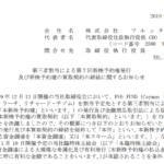 フルッタフルッタ|第三者割当による第7回新株予約権発行 及び新株予約権の買取契約の締結に関するお知らせ
