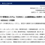 ラクーンホールディングス|クラウド受発注システム『COREC』と企業間後払い決済サービス『MF KESSAI』が連携