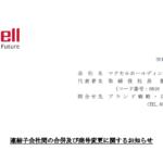 マクセルホールディングス|連結子会社間の合併及び商号変更に関するお知らせ