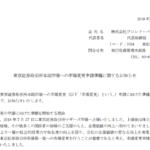 プロレド・パートナーズ|東京証券取引所本則市場への市場変更申請準備に関するお知らせ