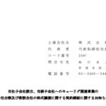 ユニカフェ|当社子会社設立、当該子会社へのキューリグ関連事業の 会社分割及び新設会社の株式譲渡に関する契約締結に関するお知らせ