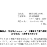 ZUU|持分法適用関連会社(株式会社ユニコーン)が実施する第三者割当増資の引受 (子会社化)に関するお知らせ