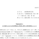 鳥居薬品|Tapinarofの日本国内における共同開発及び販売に関する契約締結について