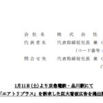 エアトリ|1月11日(土)より京急電鉄・品川駅にて「エアトリプラス」を訴求した巨大看板広告を掲出開始