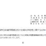 井関農機|中国持分法適用関連会社の出資比率変更に関するお知らせ