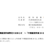 昭和産業|新中期経営計画策定のお知らせ ~「中期経営計画 20-22」~